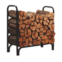 Open Hearth Collection Deluxe Log Rack with Cover from Blain's Farm and Fleet