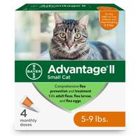 Advantage II Once A Month Topical Flea Treatment for Cats from Blain's Farm and Fleet