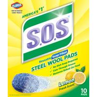 S.O.S. Steel Wool Soap Pads from Blain's Farm and Fleet