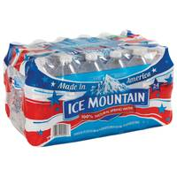 Ice Mountain Natural Spring Water Half Liter Bottle from Blain's Farm and Fleet