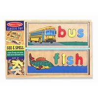 Melissa & Doug See & Spell Puzzle Set from Blain's Farm and Fleet