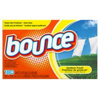 Bounce Dryer Sheet from Blain's Farm and Fleet