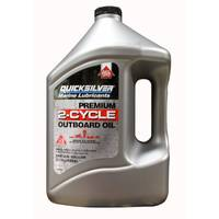 QuickSilver MERC92858022Q01 Premium 2 - Cycle Outboard Oil from Blain's Farm and Fleet