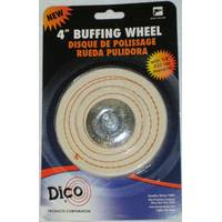 Dico Spiral Sewn Mandrel Mounted Buffing Wheel from Blain's Farm and Fleet