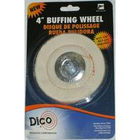 Dico Canton Flannel Mandrel Mounted Buffing Wheel from Blain's Farm and Fleet