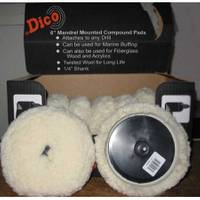 Dico Mandrel Mounted Compound Polishing Pad from Blain's Farm and Fleet