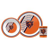 Duck House Chicago Bears Children's Dinner Set from Blain's Farm and Fleet
