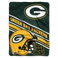 The Northwest Company NFL Green Bay Packers Super Plush Throw from Blain's Farm and Fleet