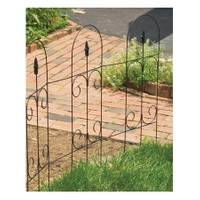 Panacea Folding Fence with Finial from Blain's Farm and Fleet