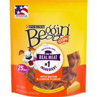 Beggin' Strips Bacon & Cheese Dog Treats from Blain's Farm and Fleet