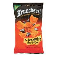 Krunchers! Mesquite Bar-B-Que Kettle Cooked Potato Chips from Blain's Farm and Fleet