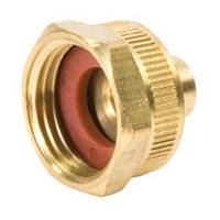 Waxman Brass Female Hose Adaptor from Blain's Farm and Fleet