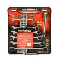 Duracraft 8 Piece Ratcheting Combination Wrench Set from Blain's Farm and Fleet