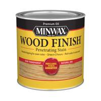 Minwax 1/2 Pint Oil Based Natural Wood Finish from Blain's Farm and Fleet