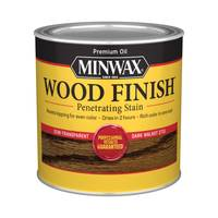 Minwax 1/2 Pint Oil Based Dark Walnut Wood Finish from Blain's Farm and Fleet