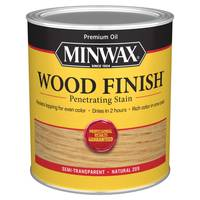 Minwax 1 Qt Oiled Based Natural Wood Finish from Blain's Farm and Fleet