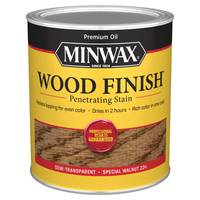Minwax 1 Qt Oiled Based Special Walnut Wood Finish from Blain's Farm and Fleet