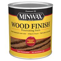 Minwax 1 Qt Oiled Based Red Mahogany Wood Finish from Blain's Farm and Fleet