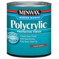 Minwax 1 Qt Water - Based Polycrylic Protective Finish from Blain's Farm and Fleet