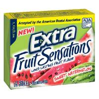 Extra Fruit Sensations Gum from Blain's Farm and Fleet