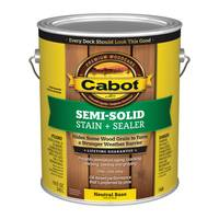 Cabot Semi-Solid Oil Decking Stain from Blain's Farm and Fleet
