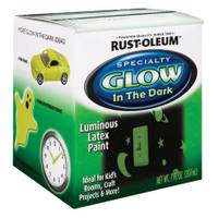 Rust-Oleum Glow In The Dark Luminous Latex Paint from Blain's Farm and Fleet