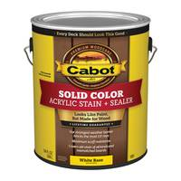 Cabot 1 Gallon Solid Color Acrylic Decking Stain from Blain's Farm and Fleet