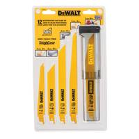 DEWALT 12 Piece Reciprocating Saw Blade Kit from Blain's Farm and Fleet