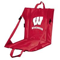 Logo Chairs University of Wisconsin Stadium Seat from Blain's Farm and Fleet