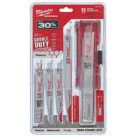 Milwaukee 12 Piece Sawzall Blade Set from Blain's Farm and Fleet