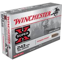 Winchester Super - X 243 Winchester Power - Point Centerfire Rifle Ammo from Blain's Farm and Fleet