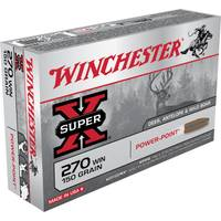 Winchester Super - X 270 Winchester Power - Point Centerfire Rifle Ammo from Blain's Farm and Fleet