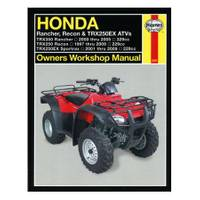 Haynes Honda Rancher, Recon & TRX250EX ATVs, '97-'09 Manual from Blain's Farm and Fleet