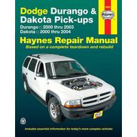 Haynes Dodge Durango (00-03) & Dakota Pick-Ups (00-04) Manual from Blain's Farm and Fleet