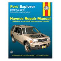 Haynes Ford Explorer & Mercury Mountaineer, '02-'10 Manual from Blain's Farm and Fleet