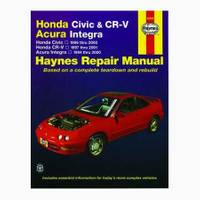 Haynes Honda Civic (96-00), CR-V (97-01) & Acura Integra (94-00) Manual from Blain's Farm and Fleet