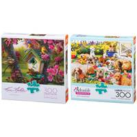 Buffalo Games Josephine Wall Rainbow Girl Jigsaw Puzzle Assortment from Blain's Farm and Fleet