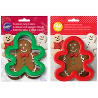 Wilton Comfort Grip Gingerbread Cookie Cutter from Blain's Farm and Fleet