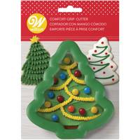 Wilton Comfort Grip Christmas Tree Cookie Cutter from Blain's Farm and Fleet