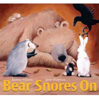 Little Simon Bear Snores On Board Book from Blain's Farm and Fleet