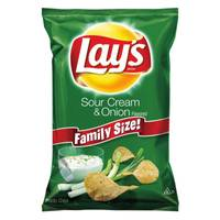 Lay's Family Size Sour Cream & Onion Potato Chips from Blain's Farm and Fleet