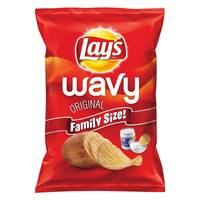 Lay's Family Size Original Wavy Potato Chips from Blain's Farm and Fleet