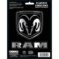 Chroma Classic Emblemz Embossed Decals from Blain's Farm and Fleet