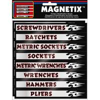 Chroma Magnetix Toolbox Identification Labels from Blain's Farm and Fleet