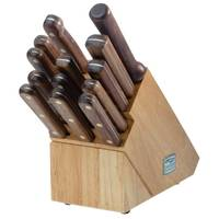 Chicago Cutlery Walnut Traditions 14 Piece Knife Block Set from Blain's Farm and Fleet