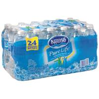 Nestle Pure Life 24 Pack Bottled Water Half Liter Bottle from Blain's Farm and Fleet