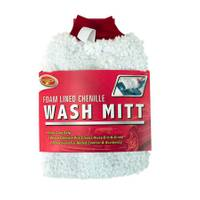 Detailer's Choice Foam Lined Chenille Wash Mitt from Blain's Farm and Fleet