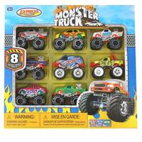 Express Wheels Monster Truck Collection from Blain's Farm and Fleet