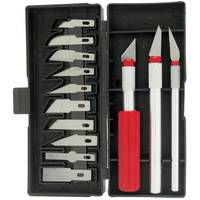 Project Pro 13 Piece Hobby Knife Set from Blain's Farm and Fleet