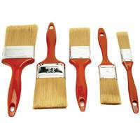 Project Pro 5 Piece Polyester Paint Brush Set from Blain's Farm and Fleet